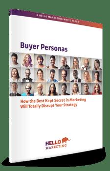 Buyer Personas whitepaper mockup